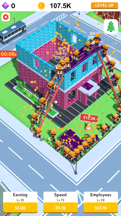 Idle Construction 3D screenshot 6
