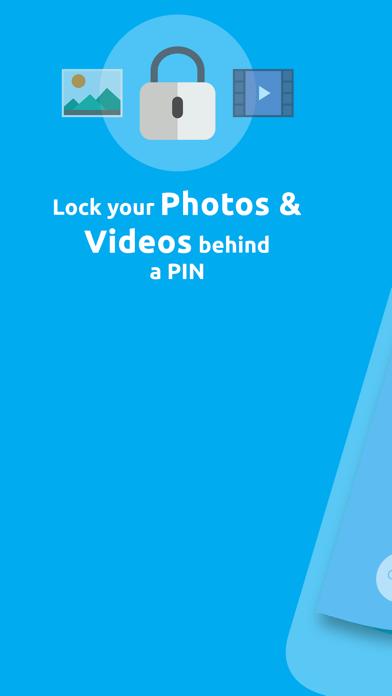 Hide Photos Album Vault Lock screenshot one