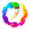 油絵:数字塗り絵 - iPadアプリ