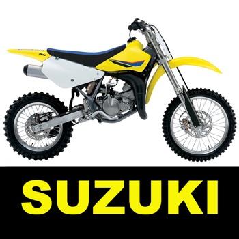 Jetting for Suzuki RM 2T Moto Logo