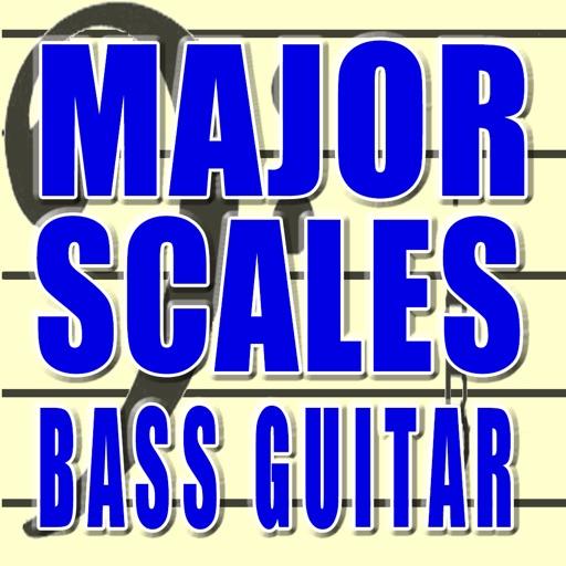 Major Scales Bass Guitar
