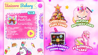 Unicorn Chef: Baking Games Screenshot 5