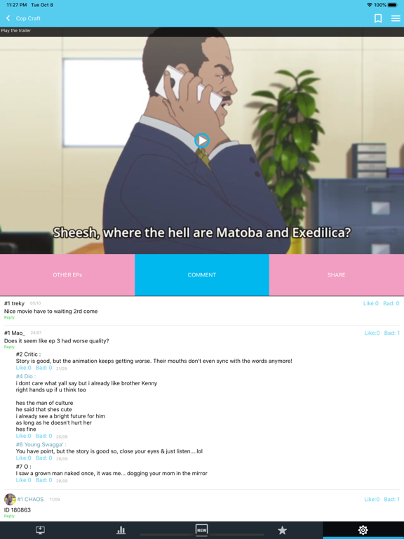 JPAnime - anime fans club screenshot