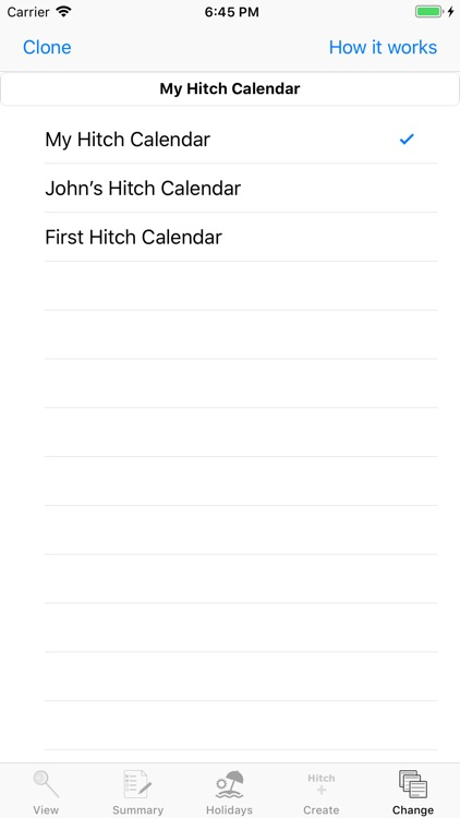 Hitch Calendar screenshot-5