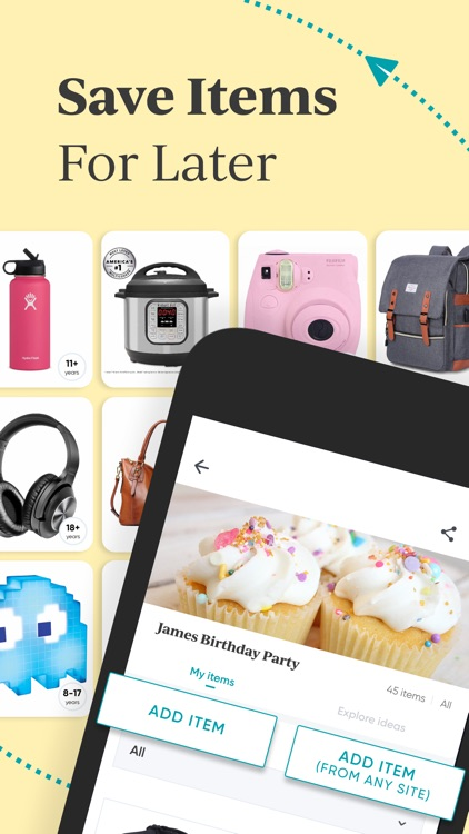 Shopafor: Gift Registry App screenshot-5