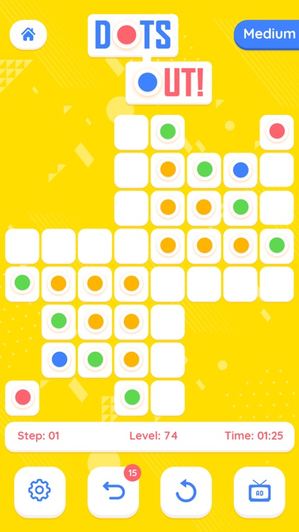 Dots Out - A puzzle Adventure screenshot-4