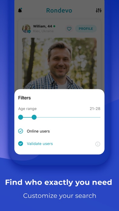 Rondevo - Dating & Chat App Screenshot