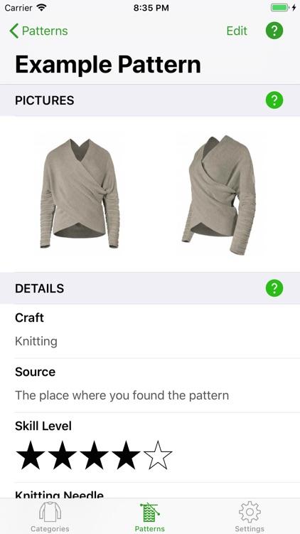 Knitting Patterns Full