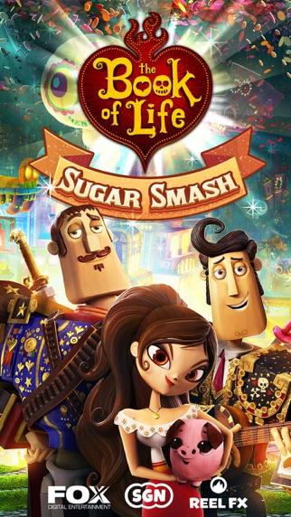 Screenshot of Sugar Smash: Book of Life5