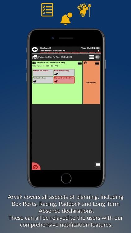 Arvak Training Manager screenshot-5