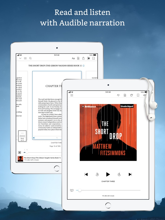 Amazon Kindle on the App Store