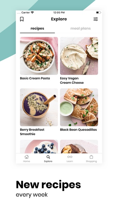 FIVESEC HEALTH: Vegan Recipes Screenshot