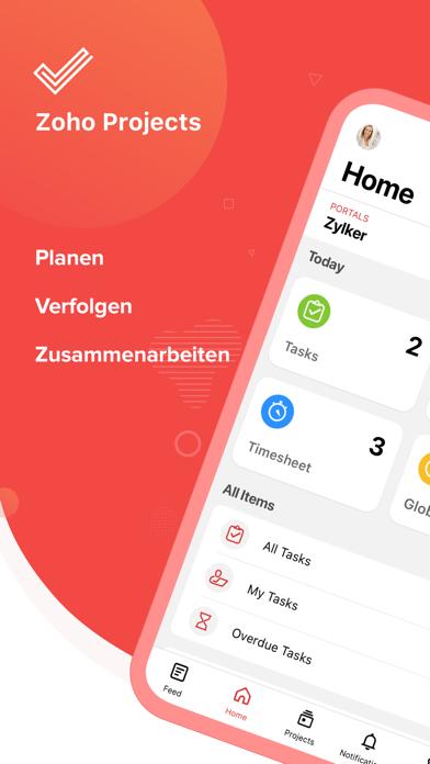 Zoho ProjectsScreenshot von 1
