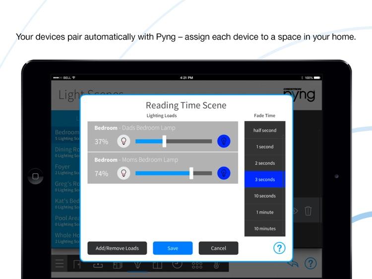 Crestron Pyng for iPad screenshot-4