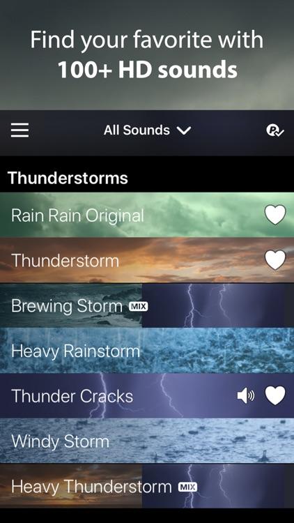 Rain Rain Sleep Sounds screenshot-0