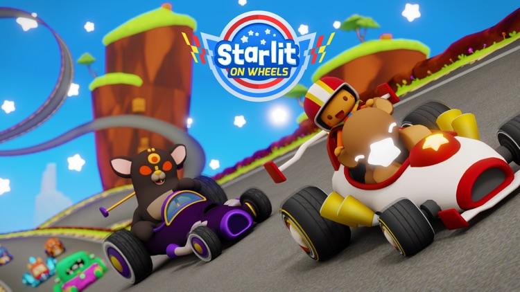 Starlit On Wheels: Super Kart screenshot-0