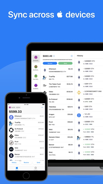 Tokenary - Ethereum Wallet screenshot-4