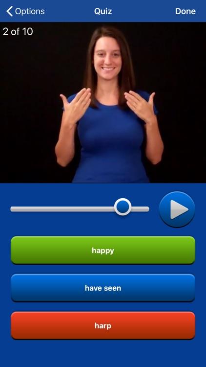 ASL Dictionary Sign Language screenshot-0