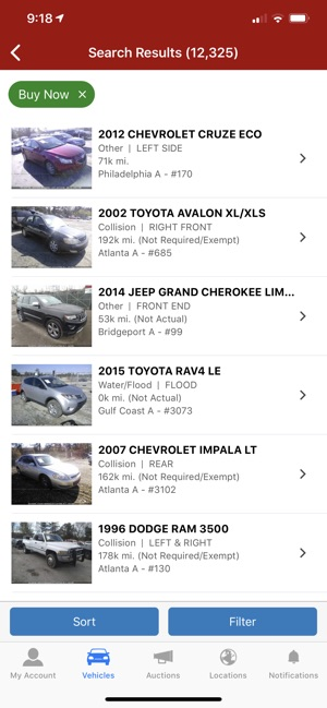 Insurance Auto Auction Salvage >> Iaa Buyer Salvage Auctions On The App Store
