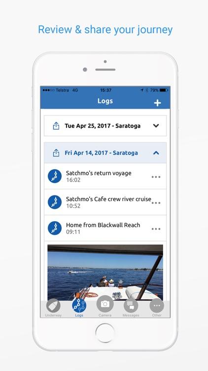 Nebo - Boat Logging Made Easy. screenshot-4