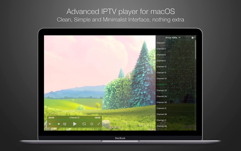 Flex IPTV LITE for Mac