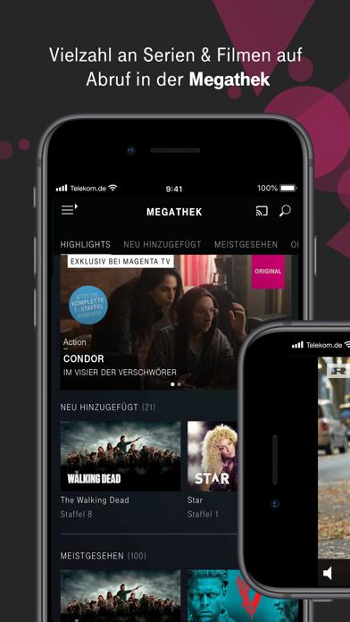 Herunterladen MagentaTV Serien, TV Streaming für Android