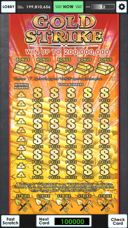 Lucky Lottery Scratchers screenshot-3