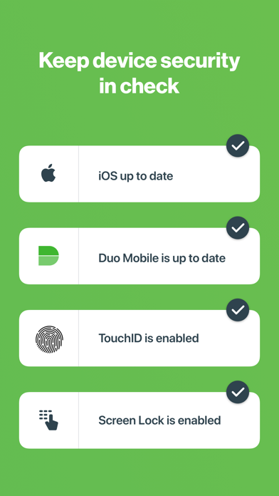 Screenshot for Duo Mobile in Azerbaijan App Store