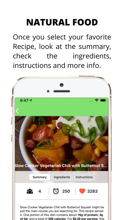 Natural Food screenshot-4