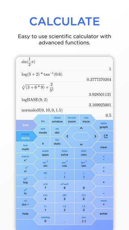 HyperCalc Graphing Calculator screenshot-0