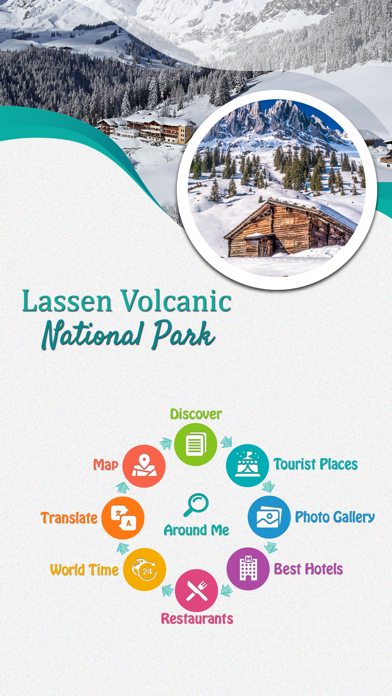 Lassen Volcanic screenshot 2