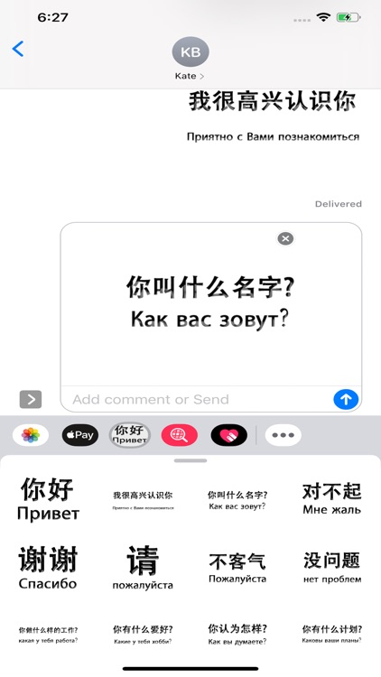 Russian Chinese screenshot-4