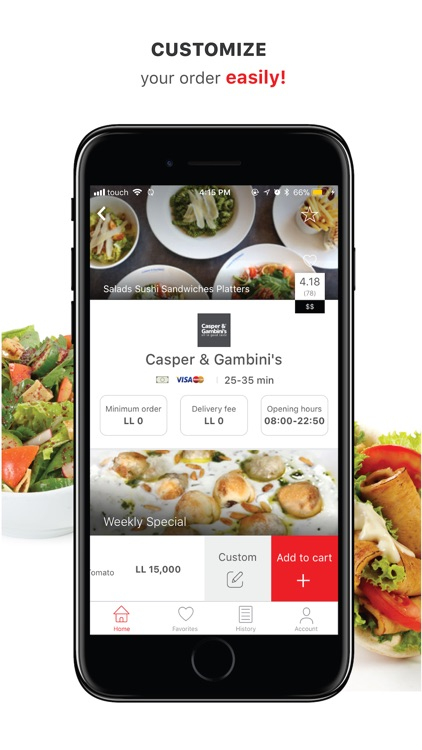 Onlivery: Online Food Delivery screenshot-4
