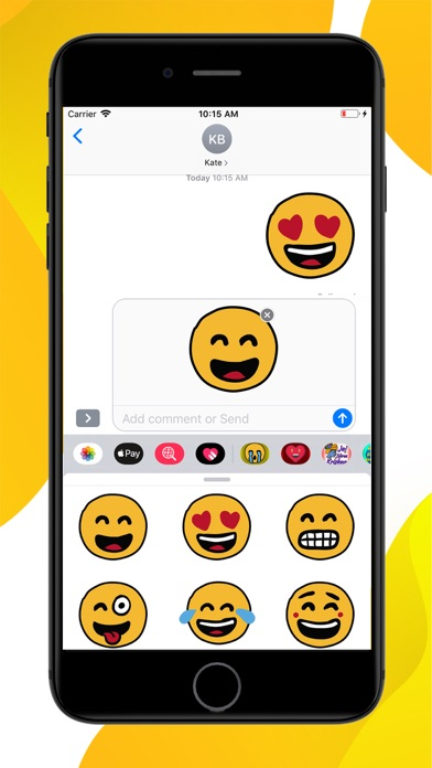 Emotion Emoji Stickers screenshot 2