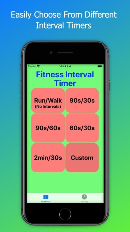FITimer - Interval Timer screenshot-0