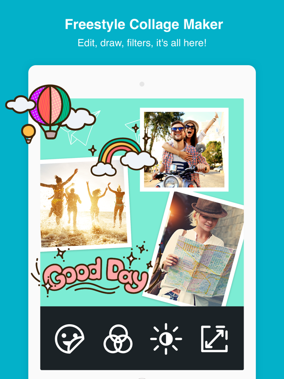 Photo Grid - photo collage maker & photo editor screenshot