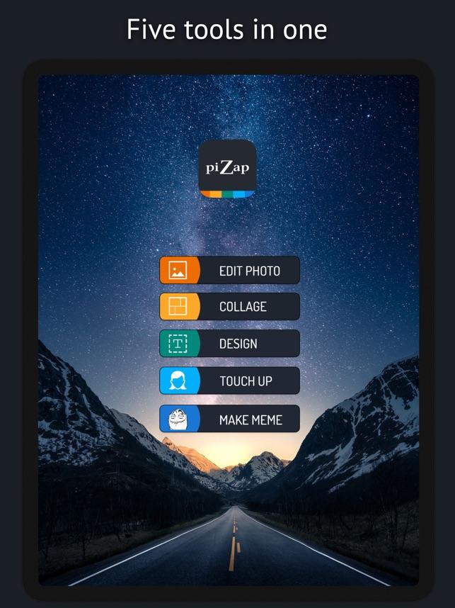 piZap Graphic Design & Editor Screenshot