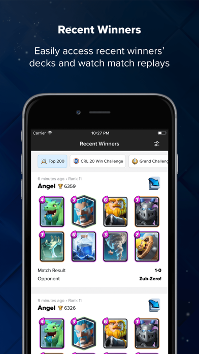 Screenshot for Stats Royale para Clash Royale in Portugal App Store