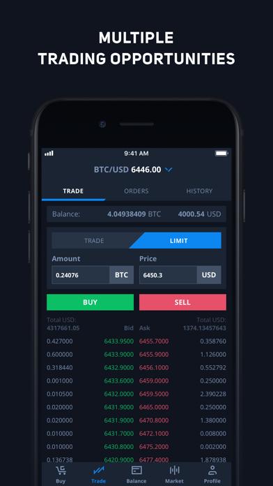 CEX.IO Криптовалютная биржаСкриншоты 5