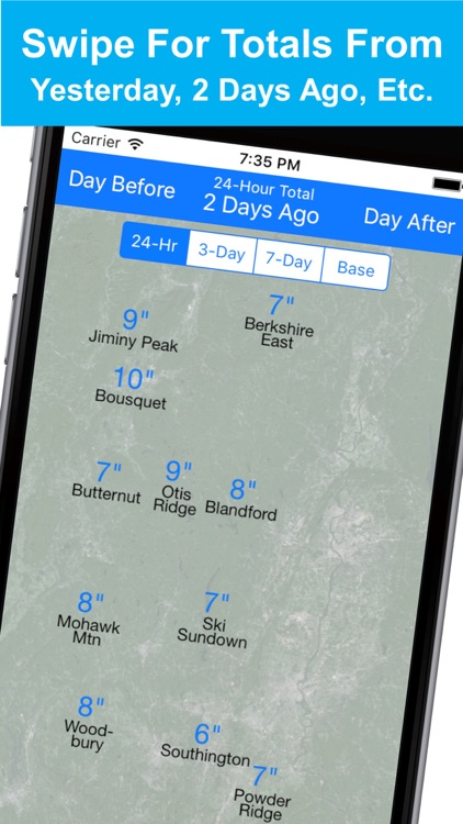 New England Snow Map screenshot-4