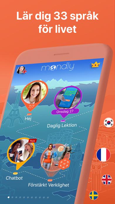 Mondly: Lär dig 33 språk på PC