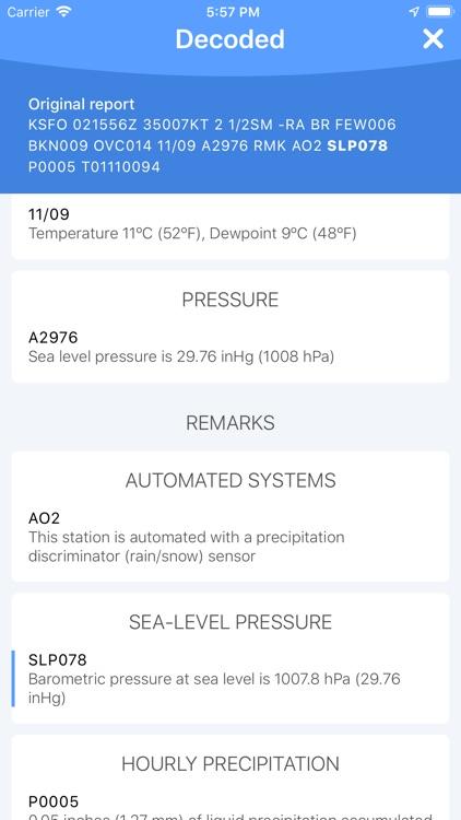 METAR Reader screenshot-5