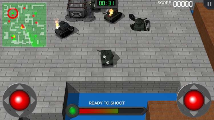 Clash of Mini Tanks