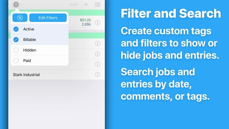 HoursTracker: Hours and Pay screenshot-3