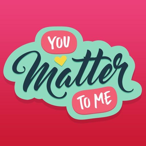 You Matter Sticker Pack