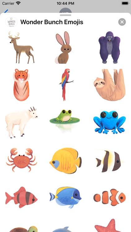 Wonder Bunch Emojis screenshot-6