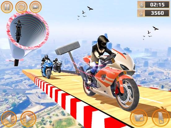 Impossible Bike Stunt Games 3D screenshot #2