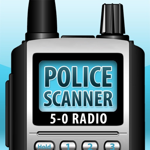 5-0 Radio Police Scanner free software for iPhone and iPad
