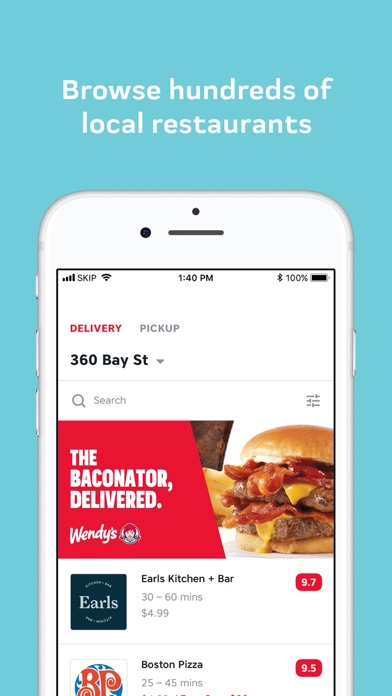 download SkipTheDishes - Food Delivery for PC