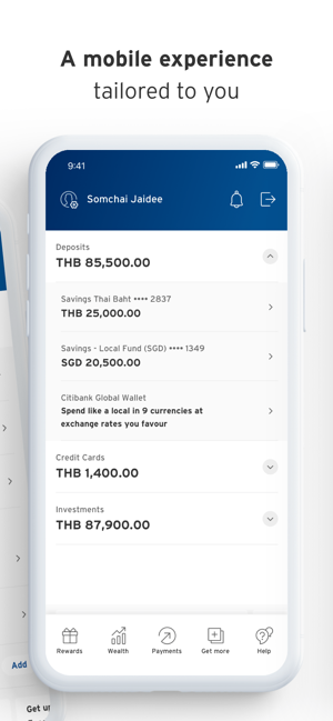 ‎Citibank TH Screenshot